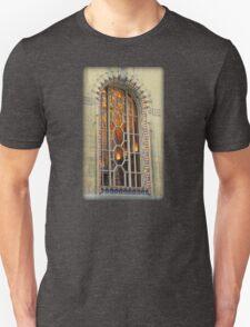 Peek Inside Arched Guardian Building Window  Unisex T-Shirt