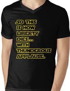 Padme Amidala Quote Star Wars Mens V-Neck T-Shirt