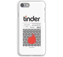 Tinder Tape Case iPhone Case/Skin
