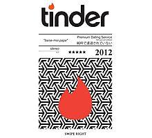 Tinder Tape Case Photographic Print