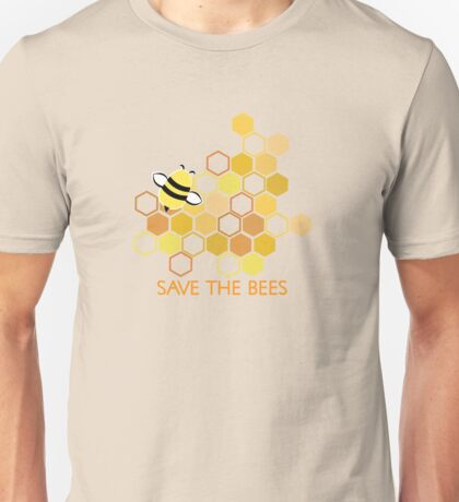 Save the Bees 1 Unisex T-Shirt