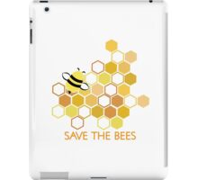 Save the Bees 1 iPad Case/Skin