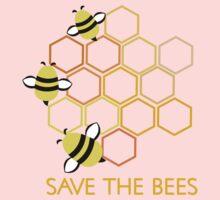 Save the Bees 2 Kids Tee