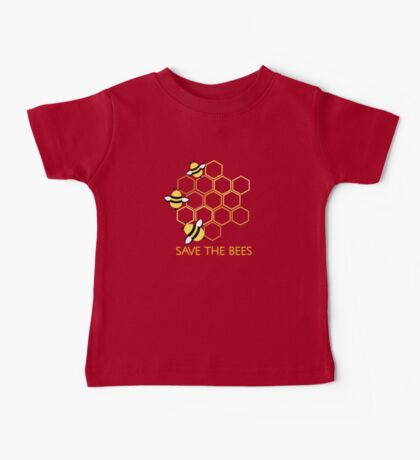 Save the Bees 2 Baby Tee