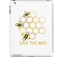 Save the Bees 2 iPad Case/Skin