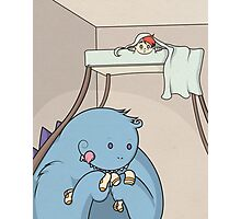 Monster under the Bed Photographic Print