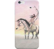"""War Paint"" by M. Rabago iPhone Case/Skin"