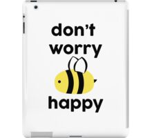 Bee Happy iPad Case/Skin