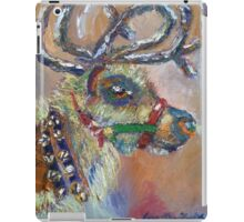 Reindeer with Jingle Bells iPad Case/Skin