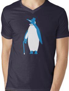 Sir Penguin (Sir Critter) Mens V-Neck T-Shirt