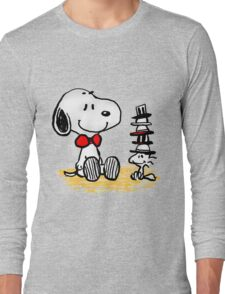 Snoopy New Friend Long Sleeve T-Shirt