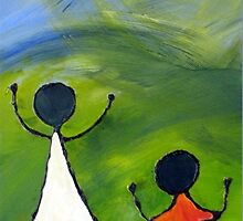 Happy children by Elizabeth Kendall