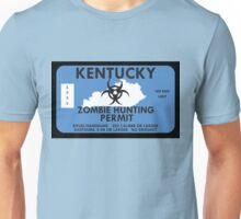 Zombie Hunting Permit - KENTUCKY Unisex T-Shirt