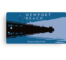 Newport Beach - California. Canvas Print