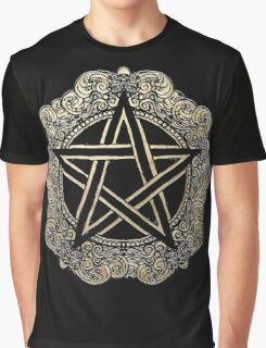Baroque Pentacle Graphic T-Shirt