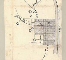 Civil War Maps 0083 Augusta Ga 1864 by wetdryvac