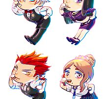 Death Parade Crew by ravefirell
