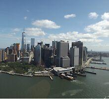 New York Skyline by Emma Lily