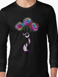 Rainbow Roses Long Sleeve T-Shirt