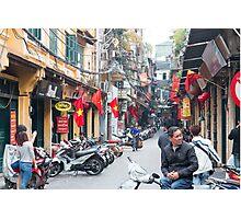 Hanoi Old Quarter Vietnam Photographic Print