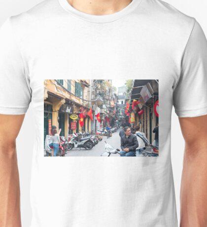 Hanoi Old Quarter Vietnam Unisex T-Shirt