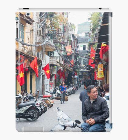 Hanoi Old Quarter Vietnam iPad Case/Skin