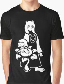 Cute Lamb Mom Undertale Graphic T-Shirt
