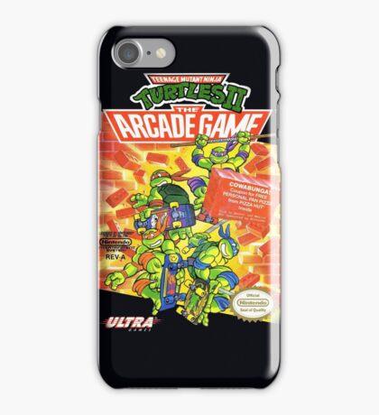 TMNT II: The Arcade Game iPhone Case/Skin