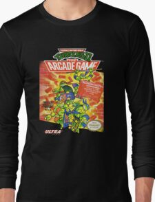 TMNT II: The Arcade Game Long Sleeve T-Shirt