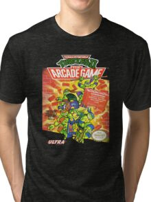 TMNT II: The Arcade Game Tri-blend T-Shirt