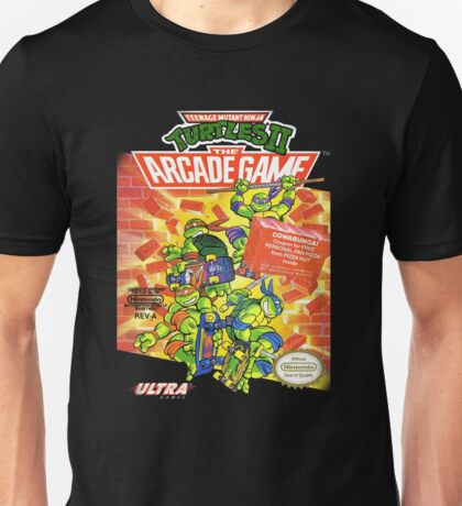 TMNT II: The Arcade Game Unisex T-Shirt