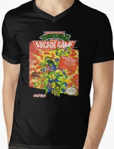 TMNT II: The Arcade Game Mens V-Neck T-Shirt