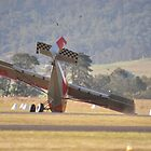 Hunter Valley Airshow, Australia 2015 - Undercarriage Collapse by muz2142