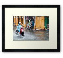 Rainy Season in Vietnam Framed Print
