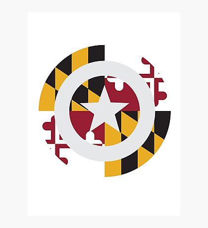 Captain Maryland Photographic Print