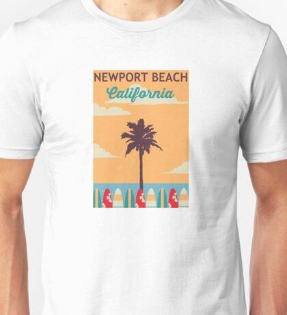 Newport Beach - California. Unisex T-Shirt