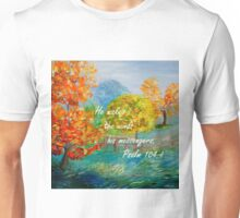 He Makes the Winds His Messengers Unisex T-Shirt