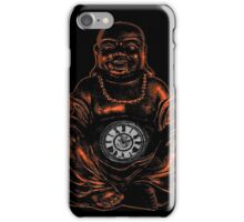 Belly Clock Buddha iPhone Case/Skin