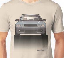 Modern Euro Icons Car Series Four Rings Rs4 A4 Avant Quattro B5 Unisex T-Shirt