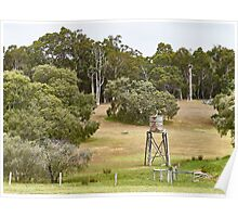 """The Aussie Farm"", Margaret River, Western Australia Poster"