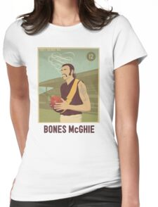 Bones McGhie - Richmond Womens Fitted T-Shirt