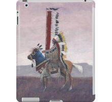 """""""Cheyenne Chief"""" by M. Rabago iPad Case/Skin"""