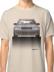 Modern Euro Icons Car Series Audi Rs4 A4 Avant Quattro B5 Split Classic T-Shirt