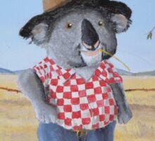 The Aussie Koala Sticker