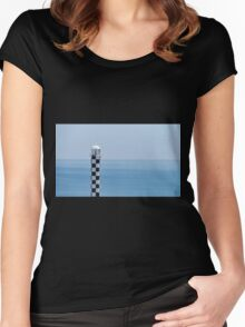 """Outlook"", Bunbury, Western Australia Women's Fitted Scoop T-Shirt"