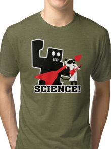 Rock Robot (Science!) Tri-blend T-Shirt