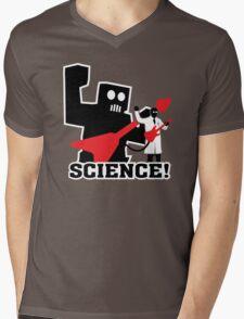 Rock Robot (Science!) Mens V-Neck T-Shirt