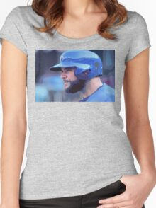 Russel Martin Women's Fitted Scoop T-Shirt