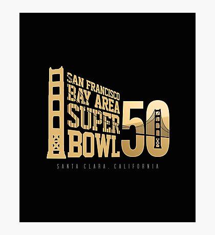 Super Bowl 50 III Photographic Print