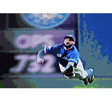 Kevin Pillar Takes a Dive Photographic Print